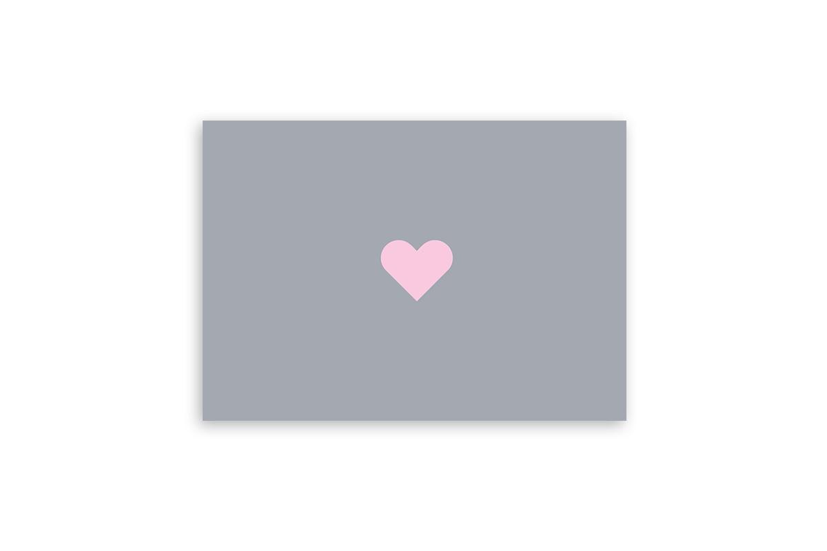 """Postkarte Einfach Liebe """"Herz"""""""